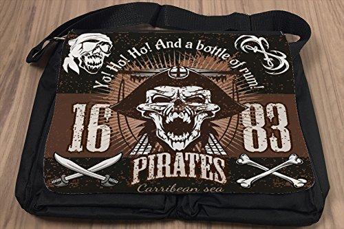 Borsa Tracolla Bar Party Rum pirata Stampato