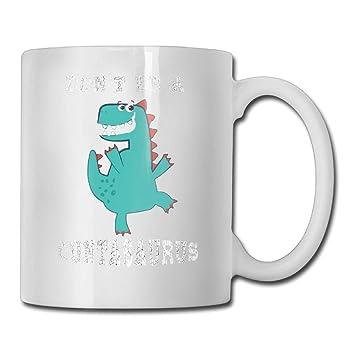 0be94fb15ba FOOOKL Don't BE A CUNTASAURUS 11oz Tea Cup Coffee Mug: Amazon.co.uk ...