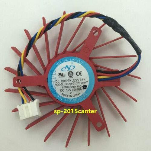 FidgetKute for 60mm VGA Video Card Fan ATI Radeon HD 4850 3850 39mm PLD06010B12HH 4pin#SP62 Show One Size