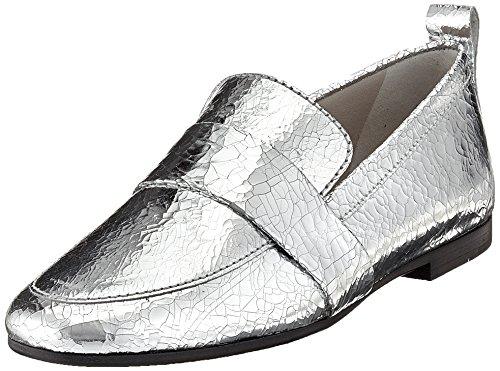 Kennel E Schmenger Ladies Tara Chiuso Ballerine Argento (argento)