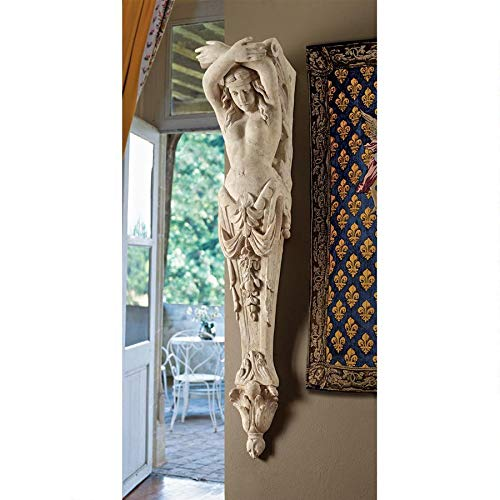 Design Toscano The Grand Boulevard 9th Arrondissement Large Architectural Pilaster Sculpture