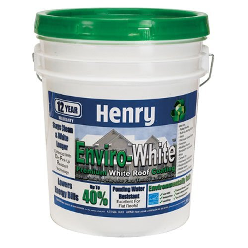 HENRY, WW COMPANY HE687406 Enviro-White Premium White Roof Coating by Henry, W.W. Co.