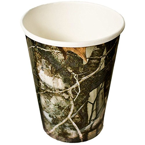 Hunting Camo Party Cups (Paper, Hot/Cold, 12 oz., 8 Pack) Next Camo...