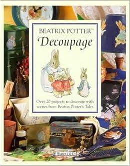 Beatrix Potter Decoupage Book (Peter Rabbit) Beatrix Potter
