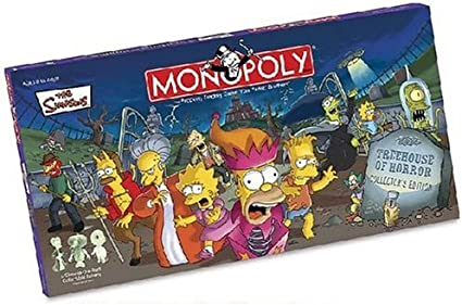 Simpsons Tree House of Horrors Monopoly MN006025 Discontinued by manufacturer