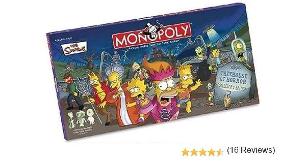 Hasbro - Juego para Fiestas Los Simpsons (MN006025) (versión en inglés): Amazon.es: Juguetes y juegos