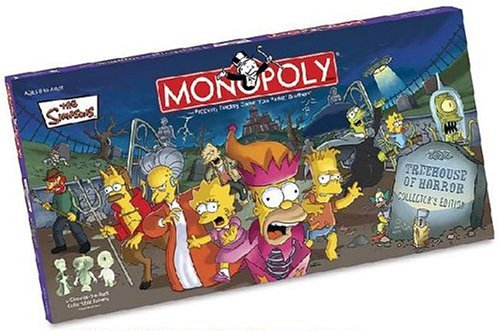 Simpsons Tree House of Horrors Monopoly (Discontinued by manufacturer)]()