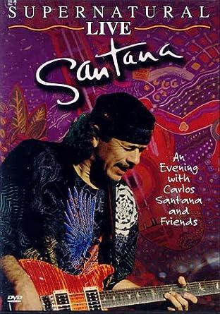 Amazon.com: Santana: Supernatural Live: Carlos Santana, Carter ...