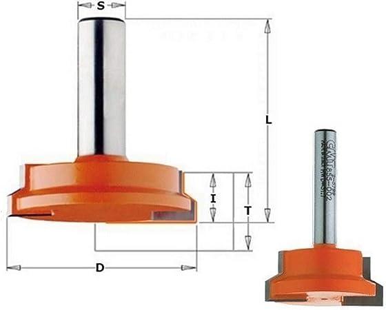 CMT Orange Tools 955,504,11 Fraise /à joints 45 degr/és hm s 12 x 50,8 22,2 d