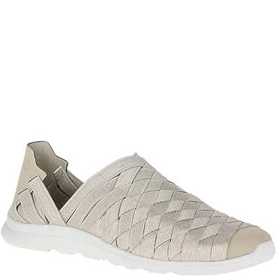 8ecceca89da28e Amazon.com  Merrell Flora Kye Weave Moc Women 8 Aluminum  Shoes