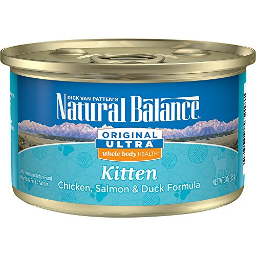 Natural Balance Kitten Formula Canned Wet Cat Food, Original