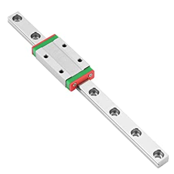 150 mm LML9H Carril guía lineal en miniatura Carril 9mm de ancho + ...