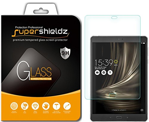 Supershieldz for Asus ZenPad 3S 10 (Z500M) Tempered Glass Screen Protector, Anti Scratch, Bubble Free