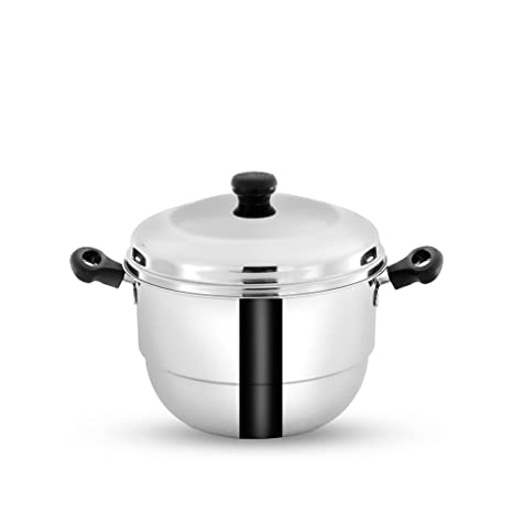 a379b81f036 Buy Pigeon Hot 20 Idly Pot with Steamer Online at Low Prices in India -  Amazon.in