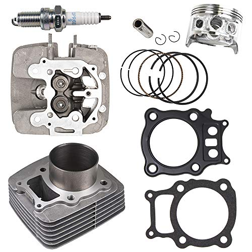 NICHE Cylinder Piston Gasket Cylinder Head Kit For Honda Rancher TRX350 2000-2006 Replaces 12100-HN5-670