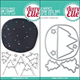 ShopForAllYou Stamping & Embossing (Stamp & Die Bundle)''Starry Scene'' Clear Stamps Only OR Clear Stamp