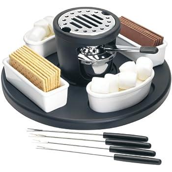 "Amazon.com: Casa Moda""S'mores"" Maker: Fondue Pots: Kitchen"