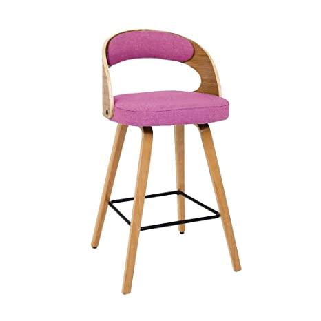 Fabulous Amazon Com Nordic Solid Wood Bar Stool Casual Creative High Gmtry Best Dining Table And Chair Ideas Images Gmtryco