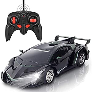 Lancei 1:20 Remote Control Car, 4-way RC Toy Car, Rechargeable High-speed Drift Racing Car, Ideal RC Car Gift For 3, 4…
