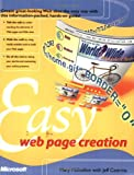 Easy Web Page Creation, Millhollon, Mary, 0735611874