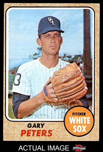 1968 Topps # 210 Gary Peters Chicago White Sox (Baseball Card) Dean's Cards 4 - VG/EX White Sox