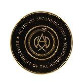 John Wick: Chapter 3 Adjudicator Medallion Black