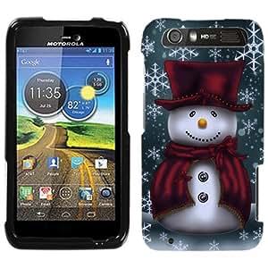 Motorola Atrix HD Snowman in Red Phone Case Cover