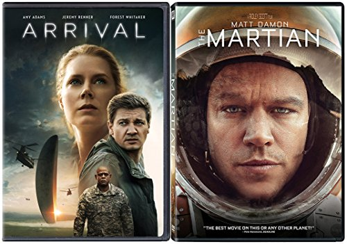 We Are the Aliens Collection - Arrival & The Martian 2-DVD - Freak Show Ahs