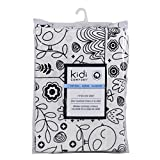 Kidiway 3044 kidicomfort Fitted crib sheet - 100 % Cotton - Black Bird