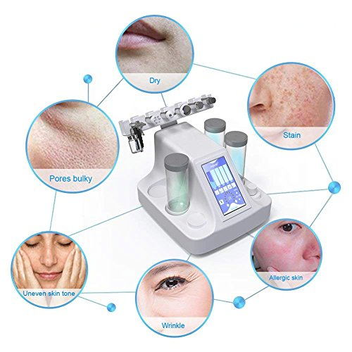 6 in 1 Vacuum Suction Blackhead Acne Removal Water Hydro-dermabrasion Facial Sprayer Moisturing Rejuvenation Skin Machine by Semme (Image #3)