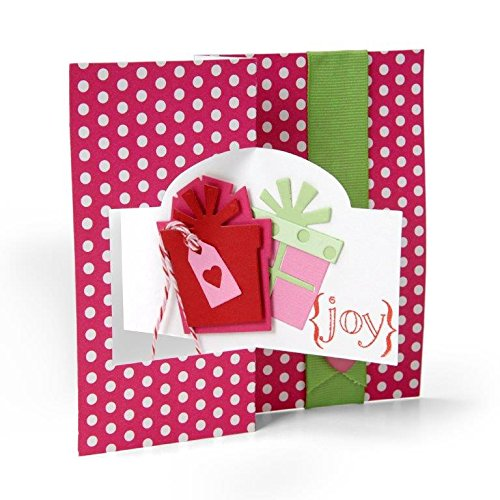 2 Step Cuttlebug Dies - Sizzix GiftsTriplits Dies by Stephanie Barnard, 9/Pack