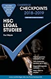 Cover of Cambridge Checkpoints HSC Legal Studies 2018-19 and Quiz Me More