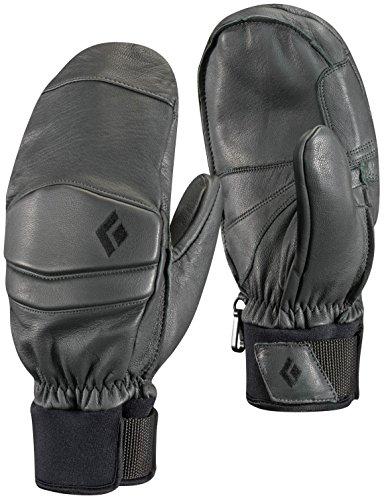 Black Diamond Spark Mitts Cold Weather Gloves, Gunmetal, Medium