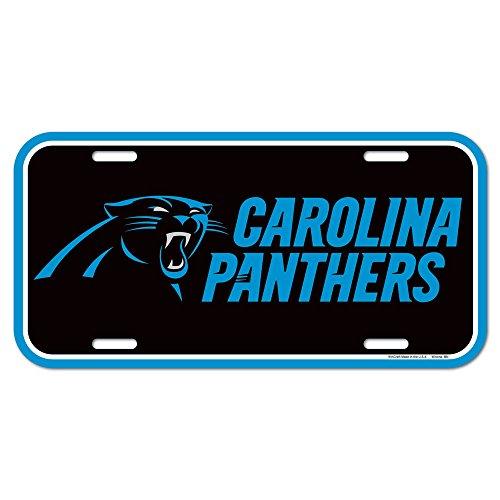 Panthers License Plates Carolina Panthers License Plate