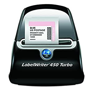 DYMO LabelWriter 450 Turbo Thermal Label Printer (1752265)