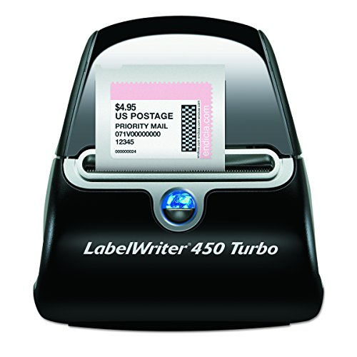 DYMO LabelWriter 450 Turbo Thermal Label Printer (1752265) (Works Shipping How)