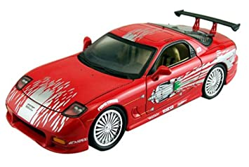 Fast & Furious - 1:18 Scale Mazda RX7: Amazon.co.uk: Toys & Games