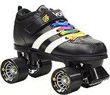 Riedell RW Volt Rainbow Skates - Riedell RW Volt Speed Skates - Volt Rainbow Skate Size 8