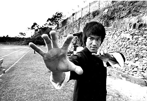 (Amazing Posters Bruce Lee Poster 13x19 Black and White Print)