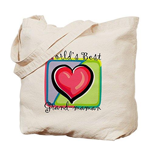 CafePress–Wb Grandma [francés]–Gamuza de bolsa de lona bolsa, bolsa de la compra