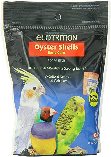 51Y1DdUR0fL - Ecotrition Oyster Shells Bone Care for Birds, 10 Ounces (C212)