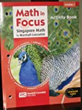 Math in Focus - Singapore Math, HOUGHTON MIFFLIN HARCOURT, 0547578970