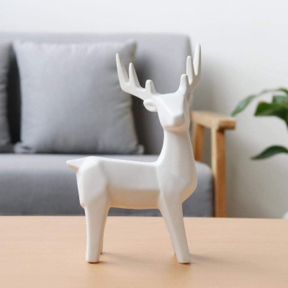 車の灰皿, エルク創造的な家庭のリビングルーム白の装飾動物実験事務所