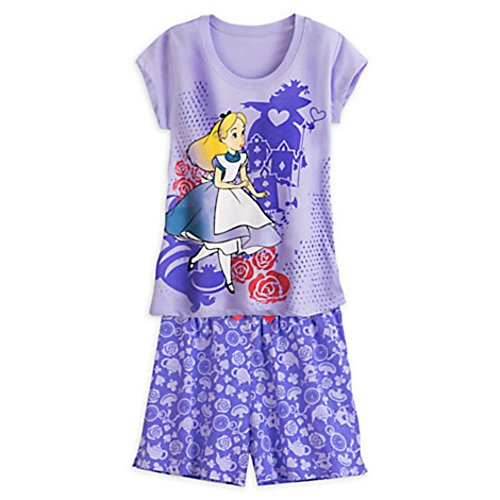 Disney Alice in Wonderland Pajama Set for Women (XL)