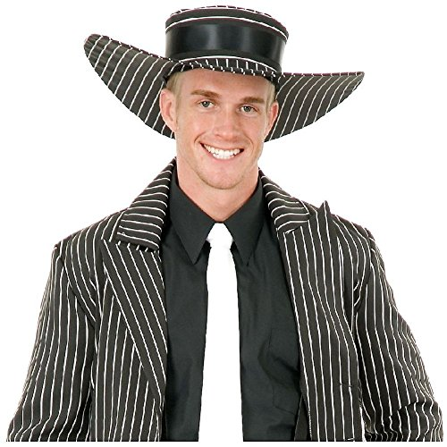 Zoot Suit Hat Costume Accessory Adult Halloween