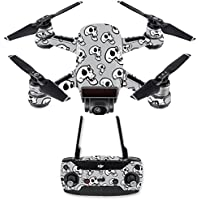 Skin for DJI Spark Mini Drone Combo - Laughing Skulls| MightySkins Protective, Durable, and Unique Vinyl Decal wrap cover | Easy To Apply, Remove, and Change Styles | Made in the USA