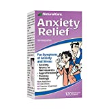 Best Anxiety Relief Supplements - NaturalCare Homeopathic Anxiety Relief , 120 Sublingual Tablets Review