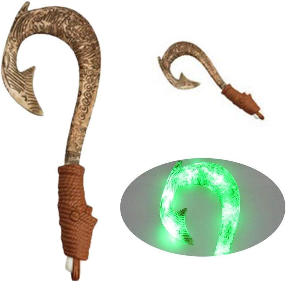 Anzuelo Maui Sound Fish con luces activadas por movimiento y m/úsica Exquisitos juguetes luminosos para ni/ños Excelentes regalos//Marr/ón
