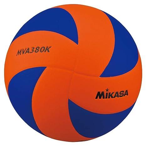 Mikasa MVA380K - Balón de Voleibol (tamaño 27,5