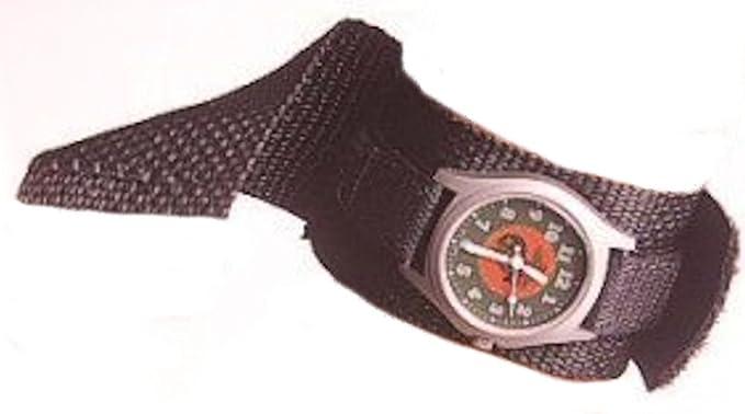 Amazon.com  Covered Watchband Black Raine 1e043d0123c